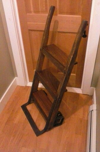 60 Best Images About Deco Hand Truck Wood Dolly On