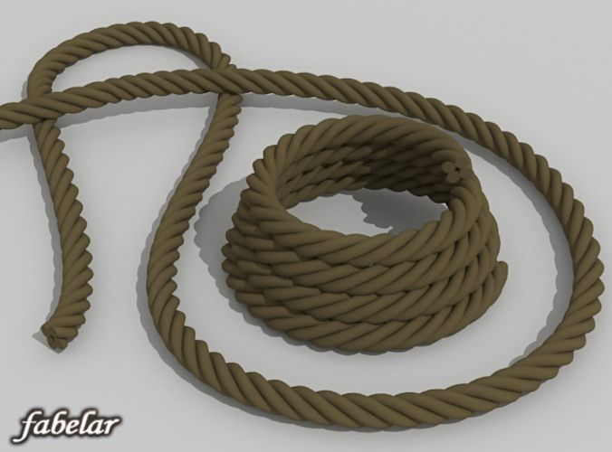 Ropes – free 3D model ready for CG projects. Available formats: 3D Studio Max (.max)