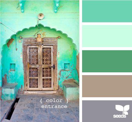 color entrance