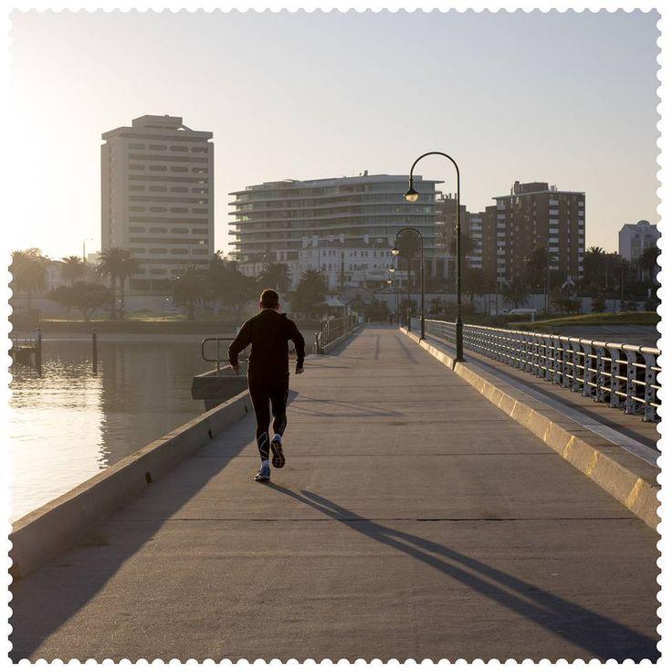 Morning run in St Kilda, 3182.  #AustraliaConnected, #Australia, #Victoria, #Melbourne, #Pier, #StKilda, #postcode3182, #Running.
