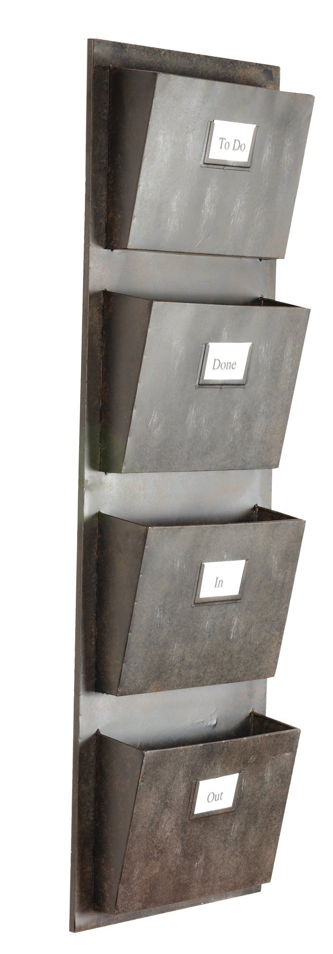 Lowest price on Linon Home Decor Products Inc. Gray Industrial Metal Four Slot Mailbox AHW-M1240-1. Shop today!