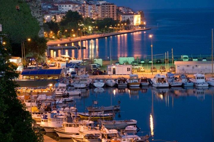 Sinop in the night