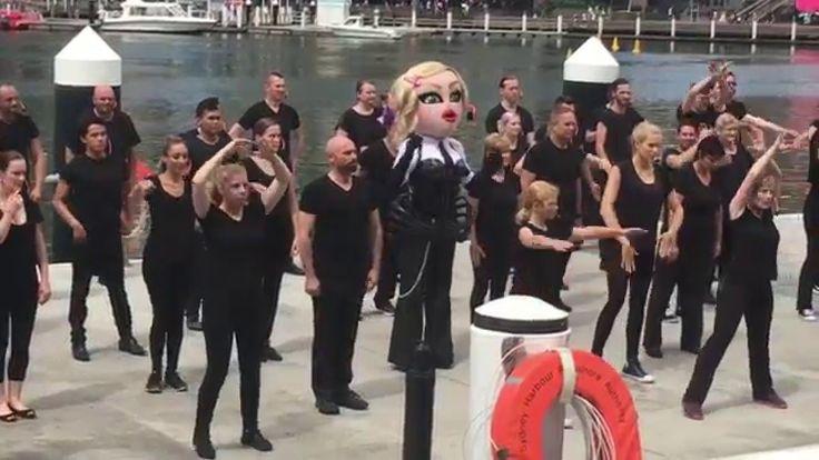 Madonna Tribute Video filming / Mardi Gras 2016 / Sydney, Australia