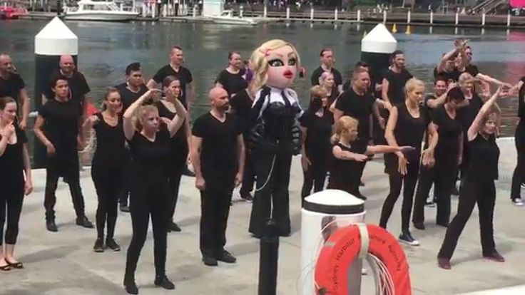 Madonna Tribute Video filming / Mardi Gras 2016 / Sydney, Australia