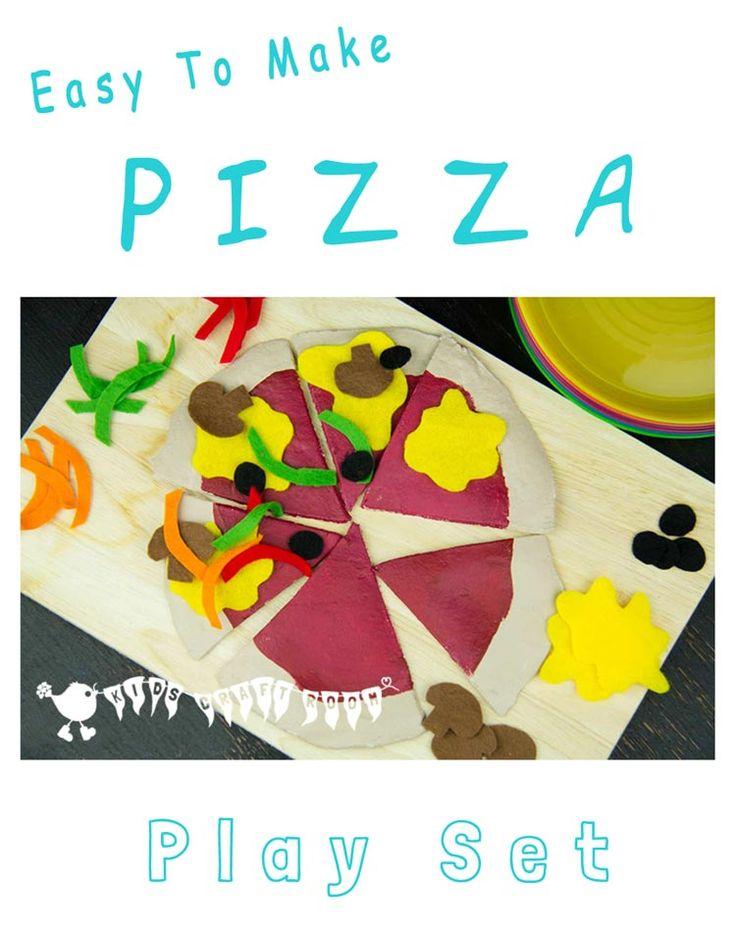 Make a Pizza Play Set, fantastic role play fun.
