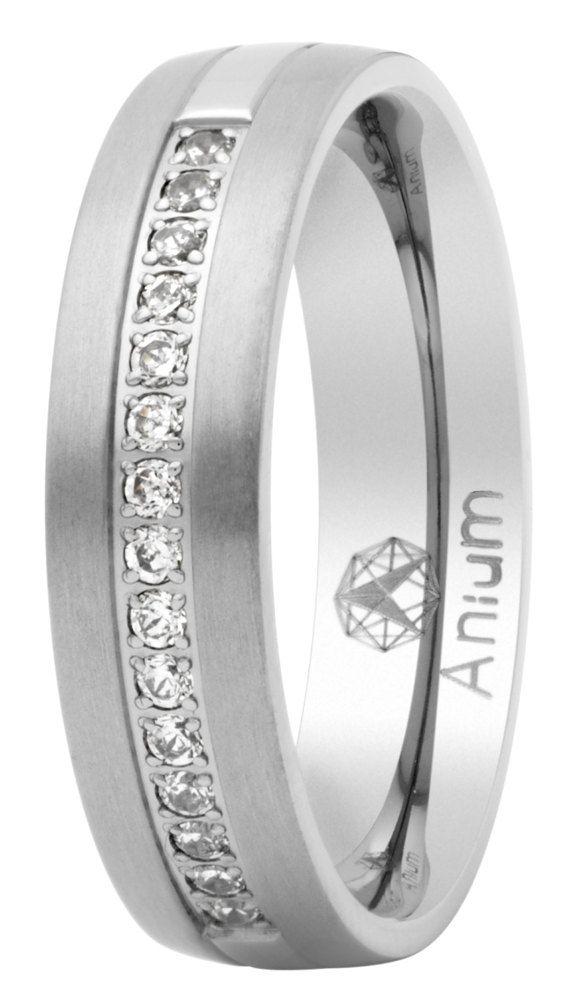alianza de boda mate-brillo fabricada en titanio por alianzasboda