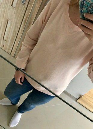 Kup mój przedmiot na #vintedpl http://www.vinted.pl/damska-odziez/bluzy/17020774-bluza-basic-kolor-pudrowy-roz-hm