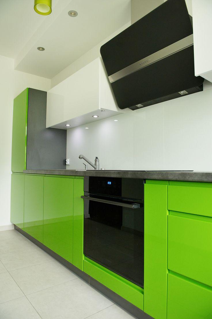 Studio Vente Chełm KUCHNIA W KOLORZE LIMONKI- Lubisz jaskrawe kolory? Ta kuchnia będzie idealna dla Ciebie.