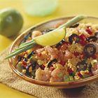 Een heerlijk recept: Couscous salade met garnalen en olijven