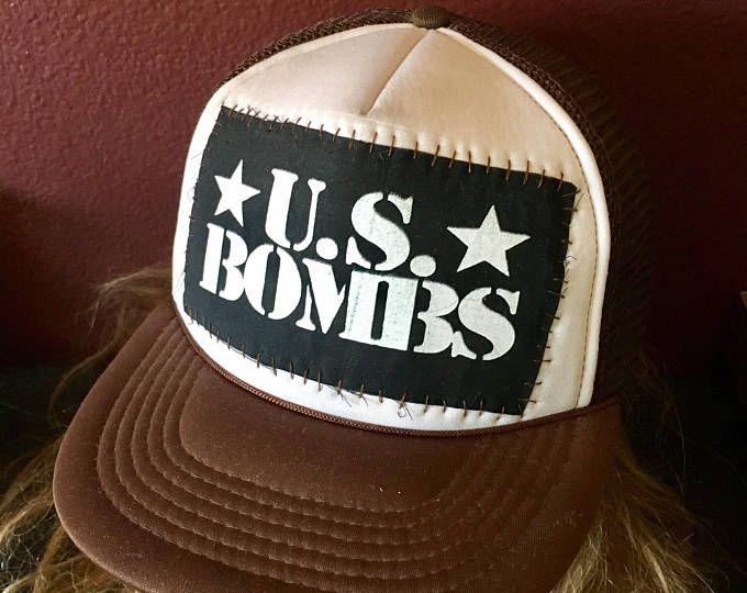 U.S. Bombs ounk trucker hat