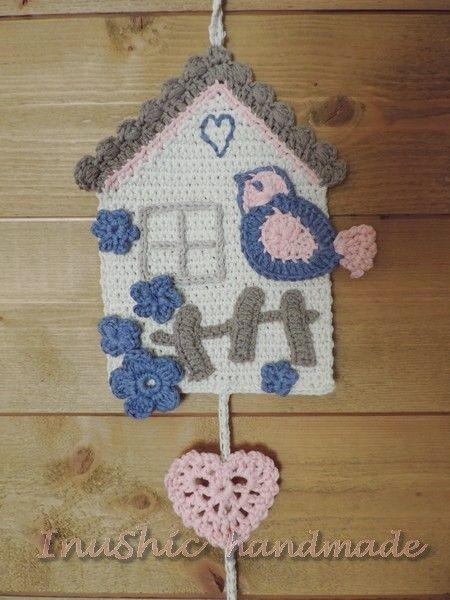 dekorácia do detskej izby -  hačkované kukačky