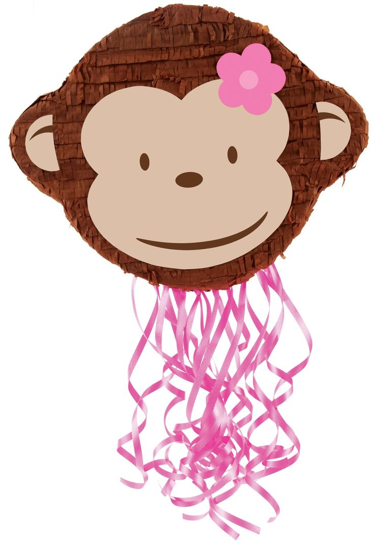 the perfect pinata for ally's mod monkey b-day!