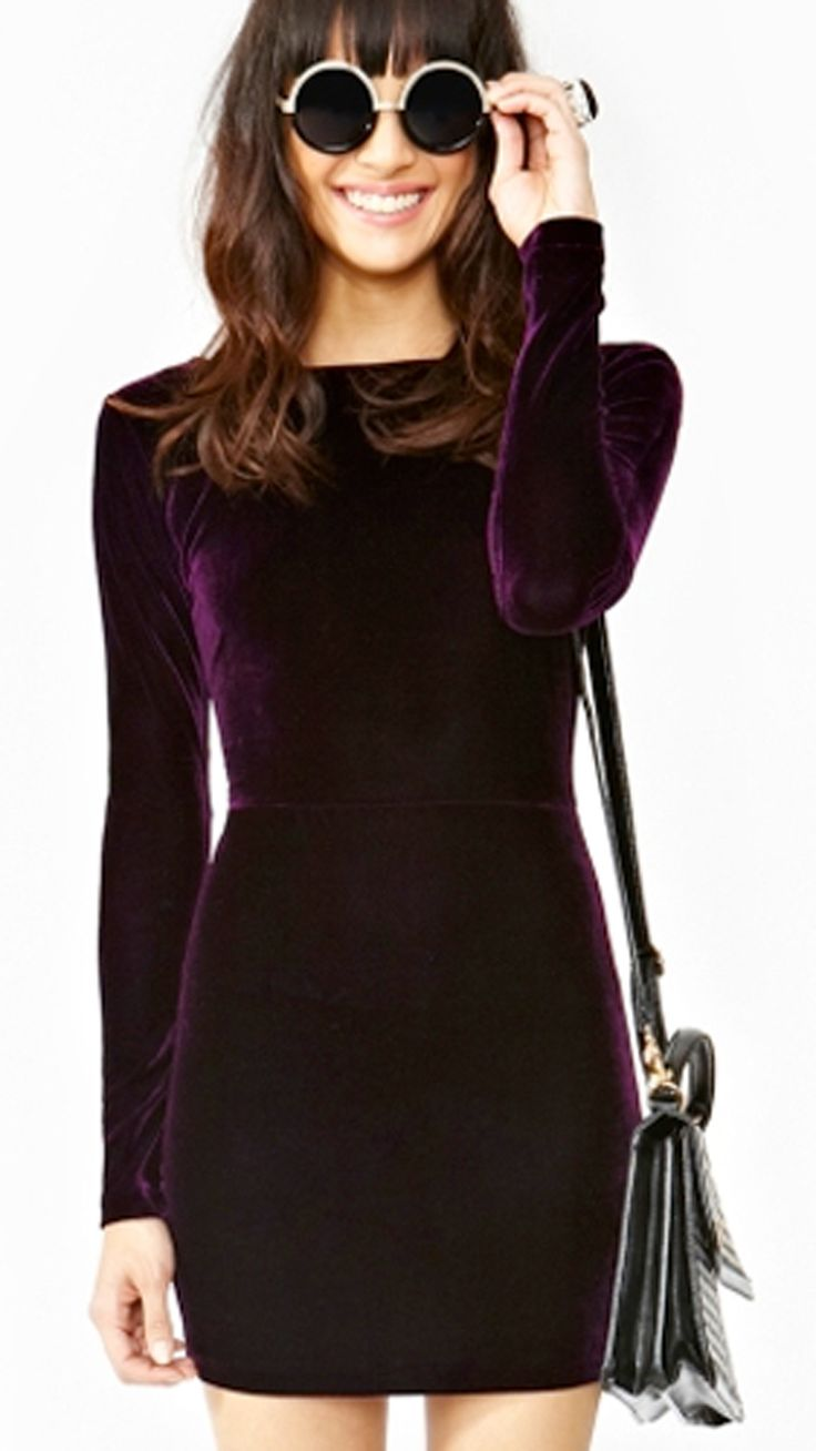 Swap sequins for velvet in rich hues this year for a more chic look, with just as much shine.