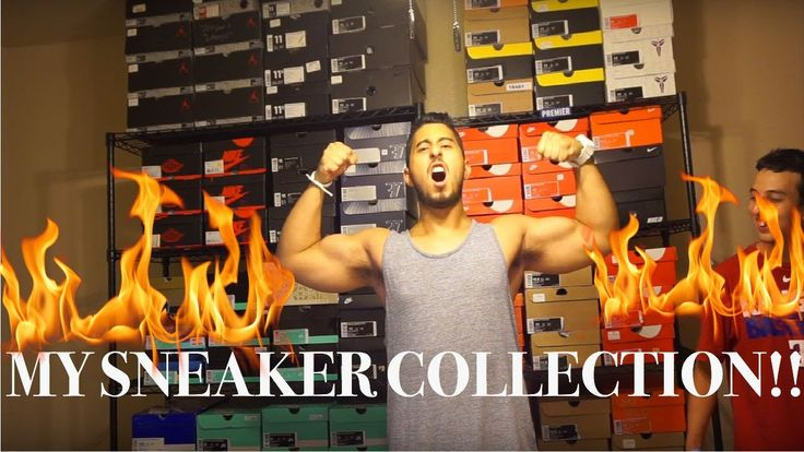 "SNEAKER COLLECTION: OVER 100 SNEAKERS!! Feels 22 Sneakers...  update on my sneaker collection! don't forget to hit that thumbs up!! -~-~~-~~~-~~-~- Please watch: ""HOW TO CUSTOMIZE SNEAKERS!!"" https://www.youtube.com/watch?v=luA6PBe5b3Q -~-~~-~~~-~~-~-  SNEAKER COLLECTION: OVER..."