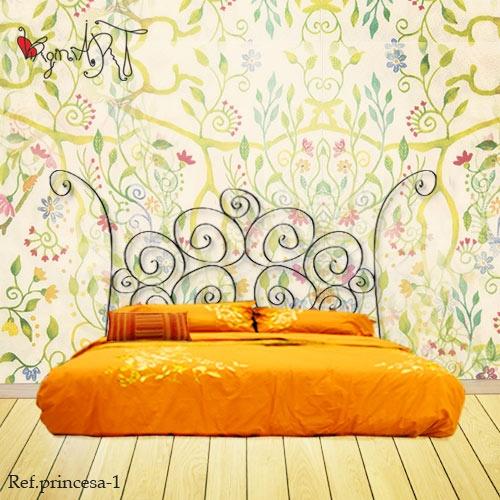 70 best cabeceros de hierro y forja images on pinterest balconies bedroom ideas and beds - Cabeceros de hierro ...