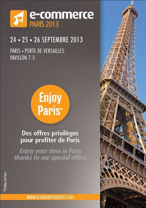 ECP13 & ses partenaires sont heureux de vous proposer des offres exclusives: http://www.ecommerceparis.com/Infos-pratiques/Bons-Plans/Profiter-de-Paris