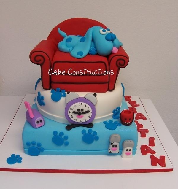 @KatieSheaDesign ♡❤#Cake ❥  Cutest Blues Clues I've seen!