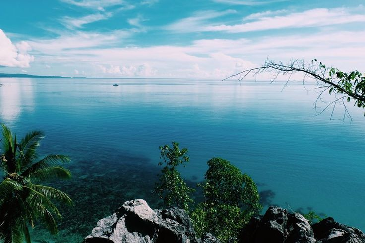 """view from top of """"pulau Seleman"""""""