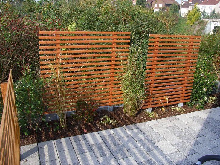 167 best sichtschutz / pergola images on pinterest | garden ideas, Garten und bauen