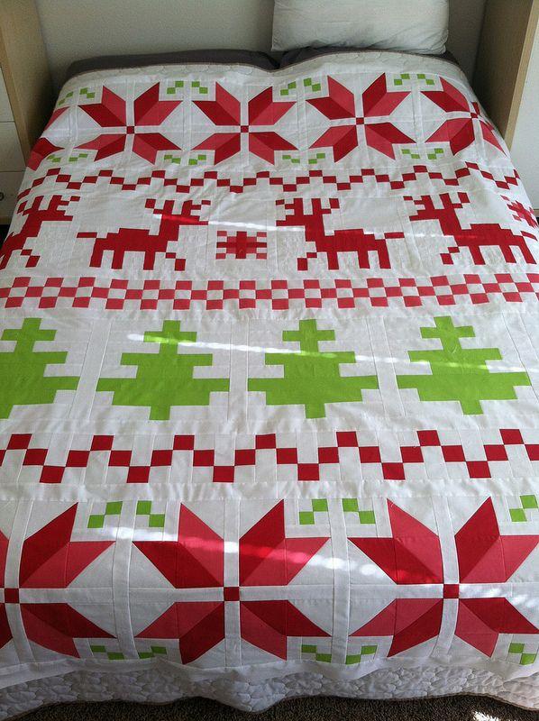 109 best Quilt kerst images on Pinterest | Christmas crafts ...