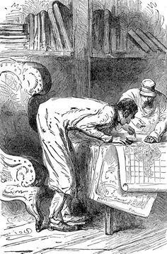 viaggio al centro della terra_Verne 1867 Riou