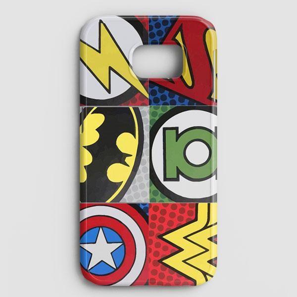 Pop Comic Super Hero Logo Samsung Galaxy S8 Plus Case   casescraft