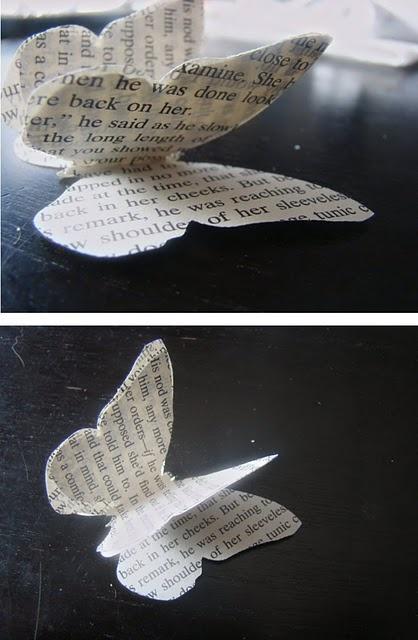 Make 3-D paper butterflies!