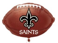 "18"" New Orleans Saints Foil Balloon (5 Each)"