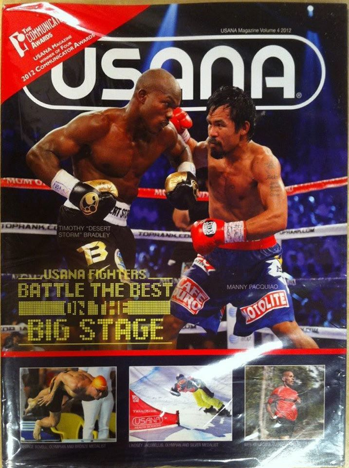Manny Pacquiao Takes USANA! Do you?