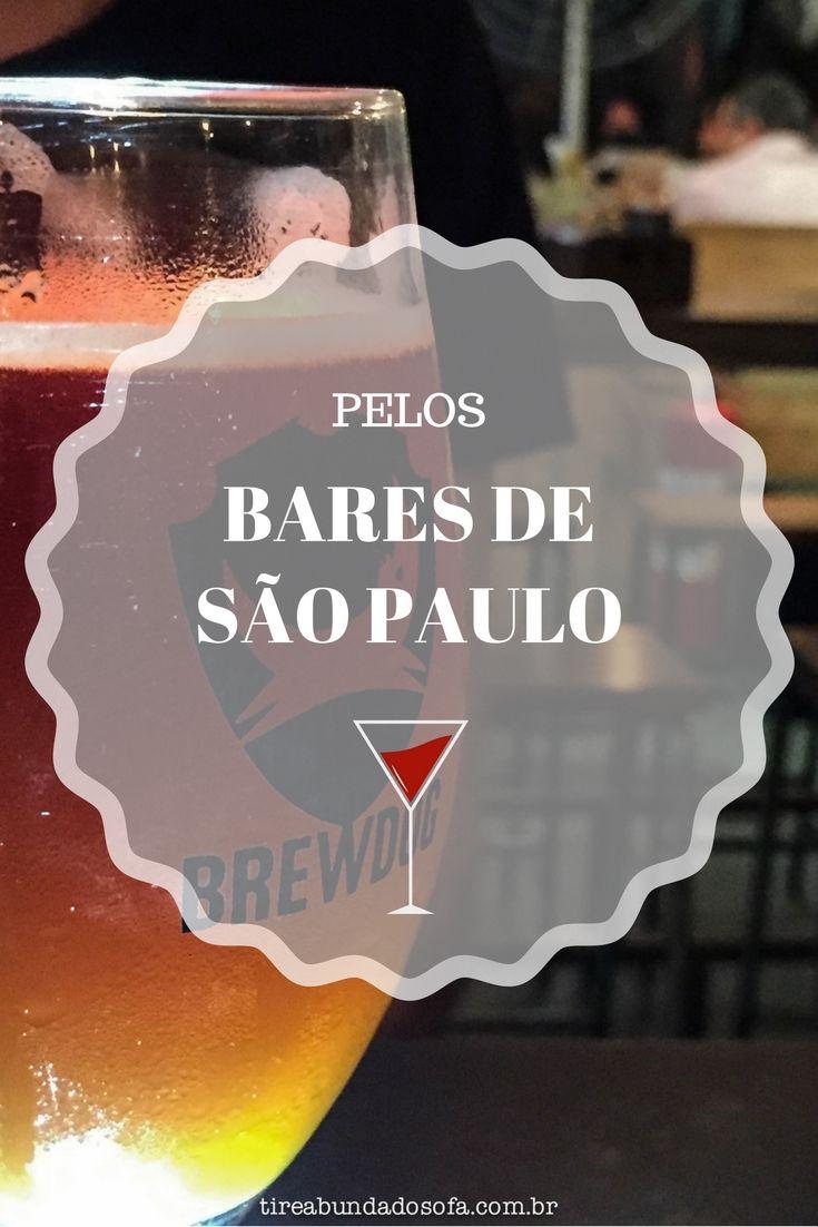 Dicas de onde beber cerveja artesanal em São Paulo, uma das maiores cidades do Brasil e do Mundo. Saiba quais são os melhores bares de São Paulo. #saopaulo #viagem #bar #cerveja #cervejaartesanal #sp #brasil #brazil