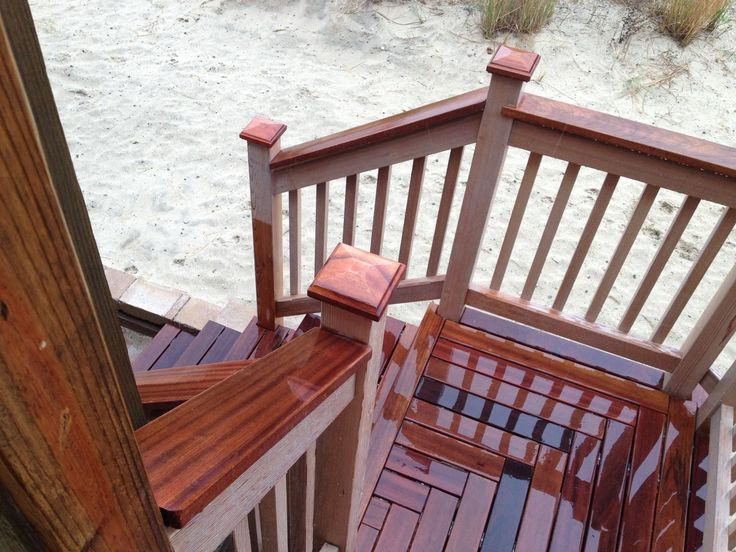 Lighting Basement Washroom Stairs: 17 Best Ideas About Deck Stairs On Pinterest