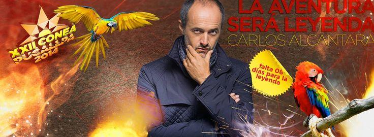 Post Facebook: Countdown : Carlos Alcantara 8d :: XXII CONEA PUCALLPA 2014