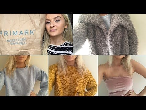 winter clothing haul 2017 PRIMARK, NEWLOOK, MISSGUIDED... - YouTube