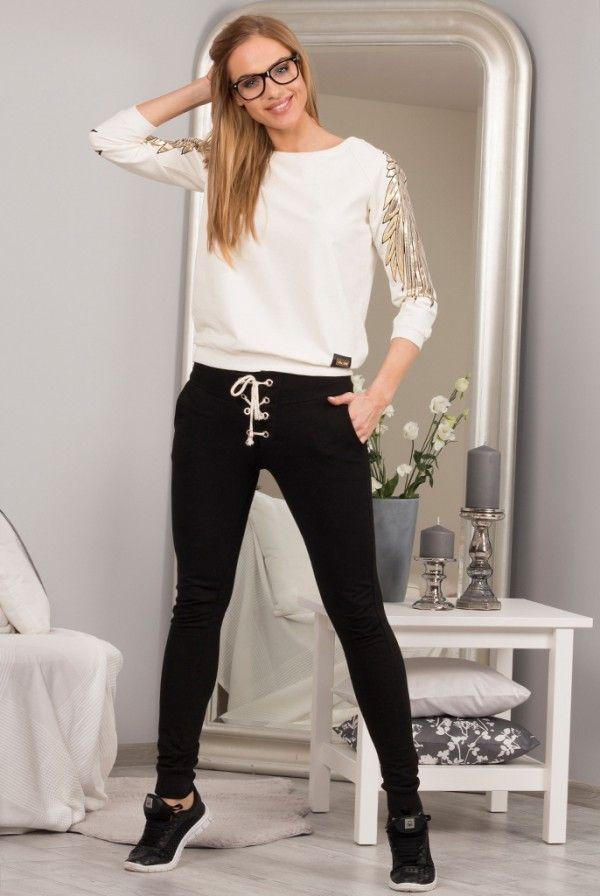 Spodnie czarne 98750