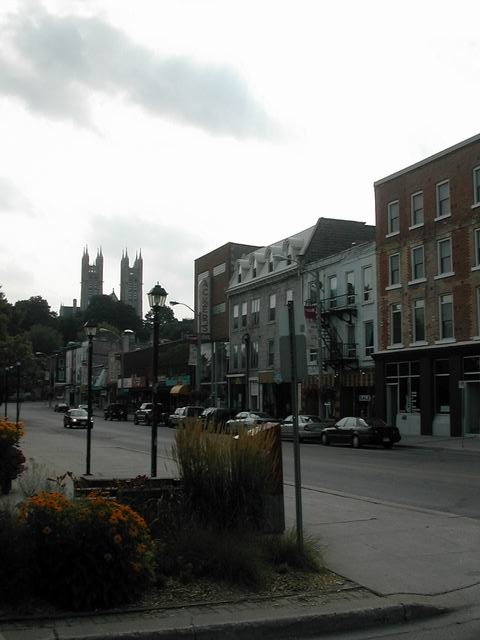 Guelph, Ontario. My maternal grandmother, Loraine was born there.