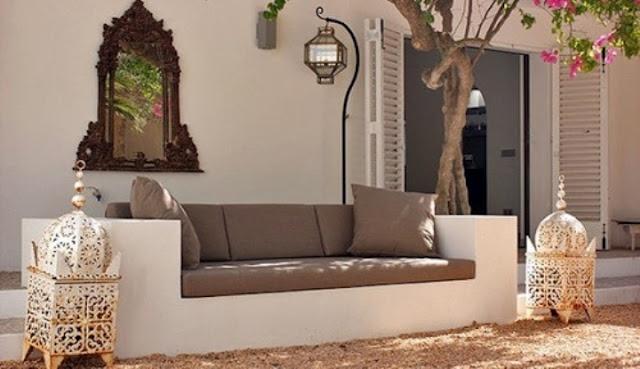 Moroccan Outdoor Escape | Moroccan Style Interior Design ...