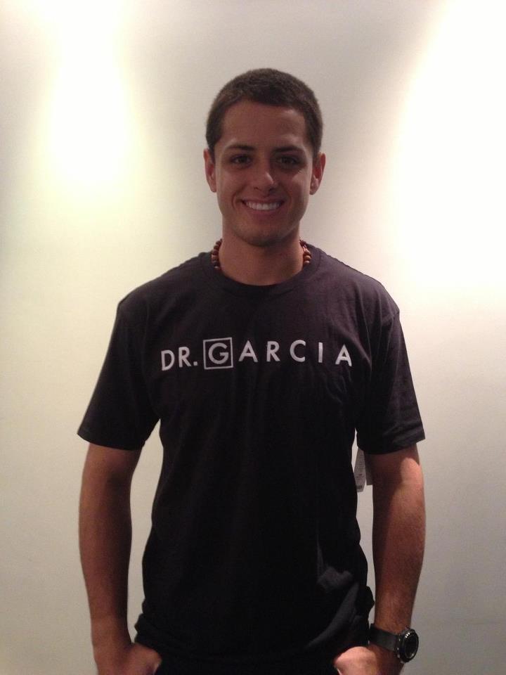 Chicharito con Hooligan The Brand (Dr. García)
