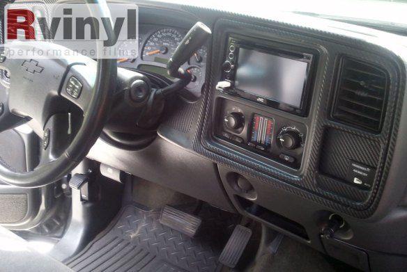 2003 Chevy Silverado Dash Kit - 3D Carbon Fiber