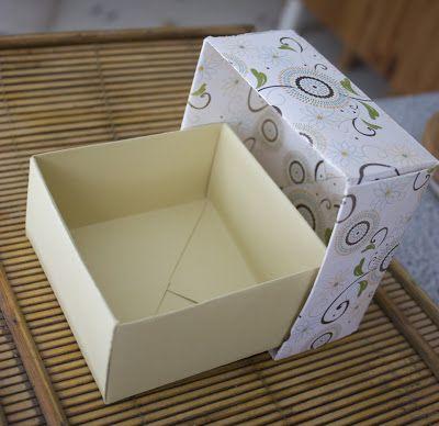 Blog scrapbook laurentides une petite boite cadeau tout - Boite cadeau origami facile ...