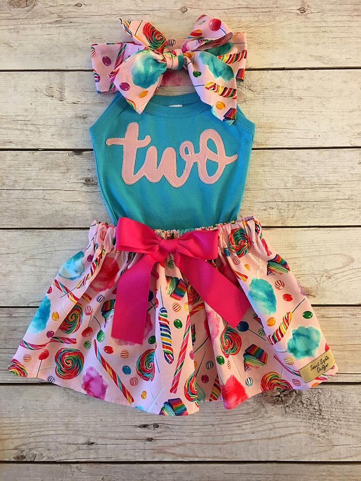 Candy Birthday Outfit, ANY BIRTHDAY, Sweet One Birthday