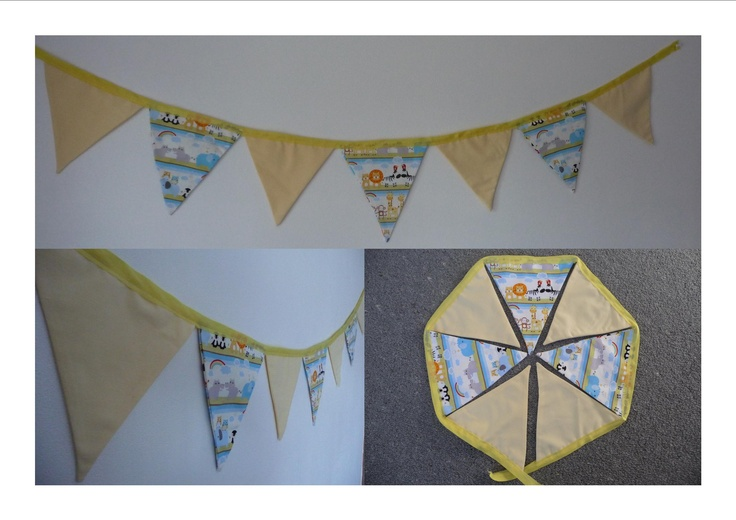 Noah's Ark Buntings 7 Flags $18.00