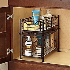 Under Bathroom Sink Storage Ideas Organizing Under A Small Bathroom Sink Dollar Tree Storage Youtube Under