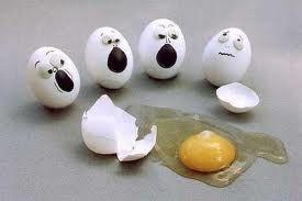 proyecto del huevo: Tirando un huevo sin que se rompa
