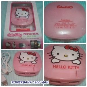 POWERBANK SANRIO HELLO KITTY 5200 MAH http://grosirproductchina.co.id/powerbank-sanrio-hello-kitty-5200-mah.html