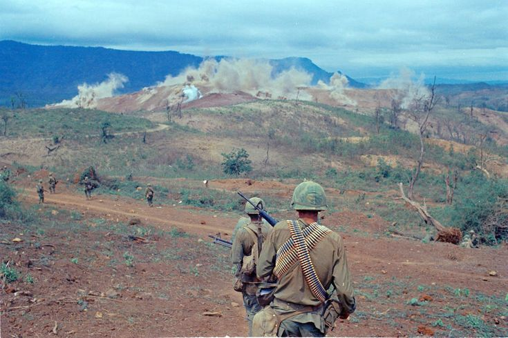 April 8, 1968 / The siege of Khe Sanh ends with the withdrawal of NVA troops from the area as a result of intensive American bombing and the reopening of Route 9. NVA losses during the siege are estimated up to 15,000. U.S. Marines suffered 199 killed and 830 wounded. 1st Cavalry suffered 92 killed and 629 wounded reopening Route 9. The U.S. command then secretly shuts down the Khe Sanh air base and withdraws the Marines. ~ Vietnam War