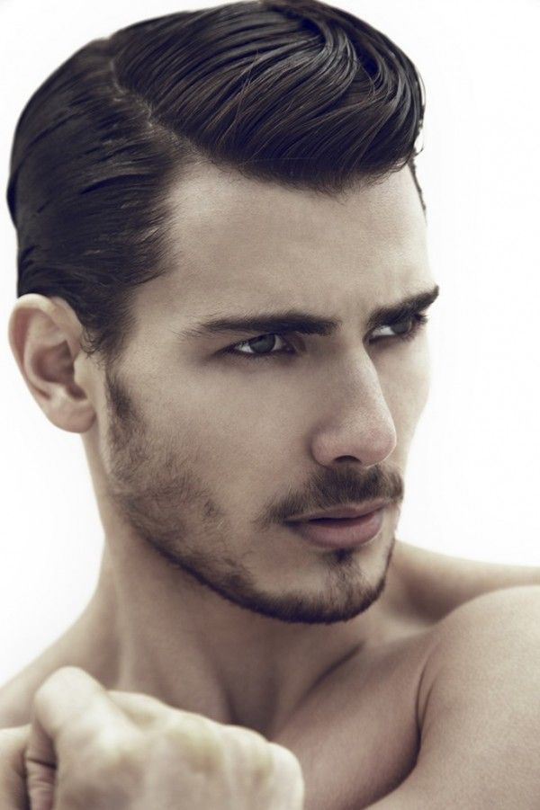 Mens Hairstyles Dark Chocolate Brown Hair Color ESaloncom - Cut hairstyle man 2014