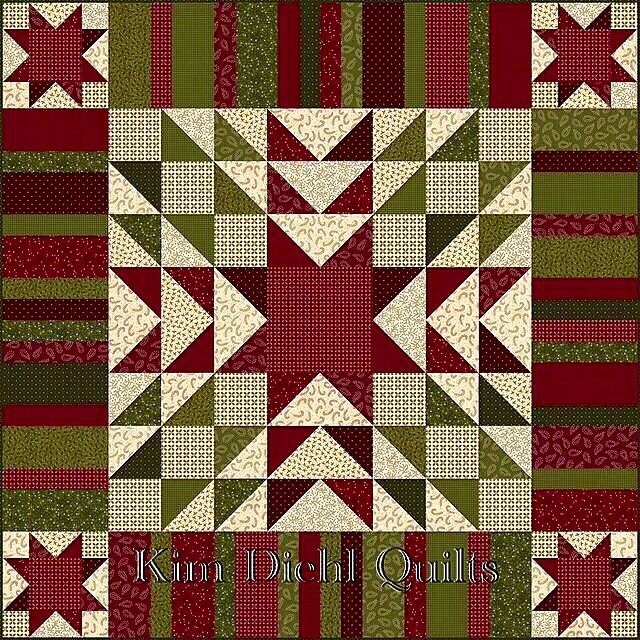 I've been trying REALLY hard to do nothing but relax and enjoy the holidays, but me being me, I just can't...I'm already planning for NEXT Christmas! These Winter Cheer flannels will be arriving in quilt shops June, 2017. Christmas in June??? Absolutely! Wrapping the people you love in a little homemade goodness (even this easily-stitched lap quilt) takes a wee bit of time. And the pattern is free! #KimDiehlQuilts #HenryGlassFabrics #WinterCheerFlannels