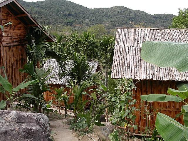 Mountain Village, Hainan Island, China.