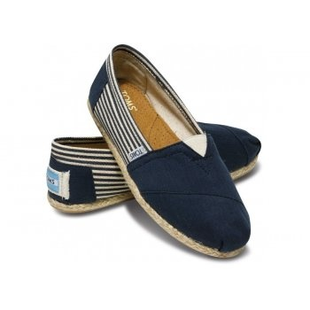 Toms Women's Classics University Rope Sole in Navy