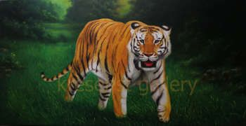 """""""Harimau"""" #Creative #Art in #painting @Touchtalent http://bit.ly/Touchtalent-p"""